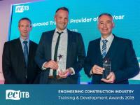 Finalist at the Engineering Construction Industry Training & Development Awards 2018