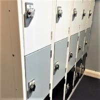 Steel Lockers at Latton Green Primary Academy