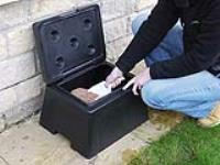 Don't be caught short in the winter. Lockertek now supplies snow ploughs and grit bins!