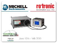 Complete humidity calibration ranges from Michell and Rotronic at Tempmeko 2019