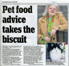 Pet Food Advice Takes The Biscuit