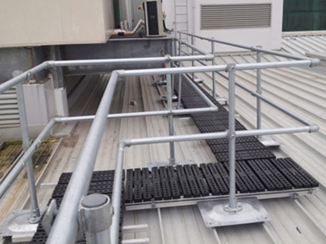 Edge Protection For Metal Roofs