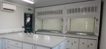 Double Fronted Fume Cupboard Specialists