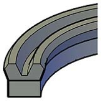 Grooved Piston Seals
