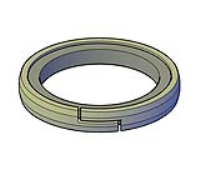 Z Cut Nylon Piston Composite Seals