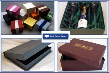 Covered Presentation Boxes