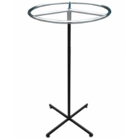 Adjustable Height Ring Garment Stand.