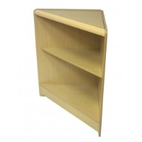 Economy Self Assembly: Open Front Triangle Corner Maple 1518