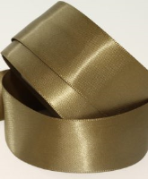 Combat / Olive Green ( Col 735 ) Double Faced Satin Ribbon x 20 Metre Roll