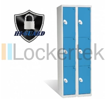 3 Door Hi-Guard Locker (Nest of 2)