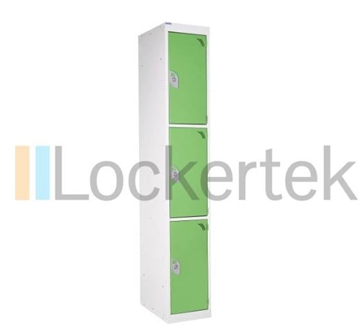 3 Door Rainbow Locker