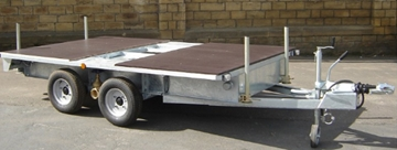 Toilet Trailer Chassis Supplier