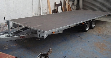 Supplier of Large Flatbed Trailers in Yorkshire