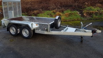 Plant Hire Trailer Manufacturer in Yorkshire