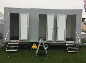 Manufacturer of Hospitality Mobile Toilets