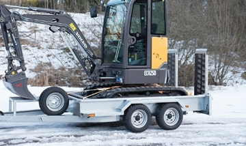 Manufacturer of Heavy Duty Plant Hire Trailers