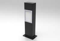 Black Acrylic Competition Tower