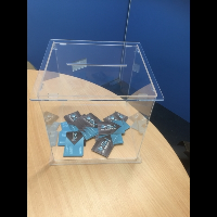 Acrylic Suggestion Competition Box