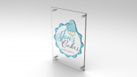 Printed Acrylic Perspex®A1 Sign.