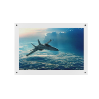 7 x 5 inch Clear Wall Mounted Photo Frames