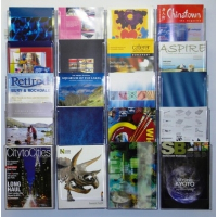 20 Pocket A4 Wall Mounted Leaflet Holder