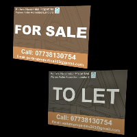 Printed Property Signs