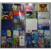 Combination 5 Wall Mounted Leaflet Holder