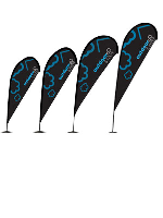 Zoom Lite Quill Flags