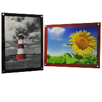 10 x 15 inch Coloured Wall Mounted Photo Frame