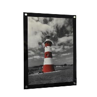 10 x 8 inch Coloured Wall Mounted Photo Frame