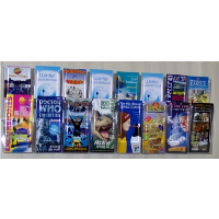 16 Pocket Trifold Wall Mounted Leaflet Holder