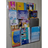 Combination 14 Wall Mounted Leaflet Holder System