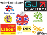 General Election Outdoor PVC Banners