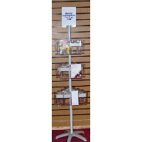 Combination 3 Leaflet Carousel Stand