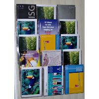 15 Pocket A5 Wall Mounted Leaflet Holder