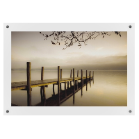 A1 Clear Wall Mounted Photo Frames