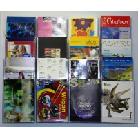 16 Pocket A4 Wall Mounted Leaflet Holder