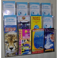 12 Pocket Trifold Wall Mounted Leaflet Holder