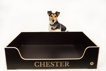Raised Base Wooden Personalised Dog Beds