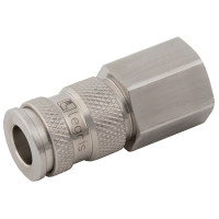 Parker Legris 25 Series Stainless Steel Couplers BSPP Female