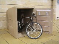 Bike Storage Lockers With Graphics