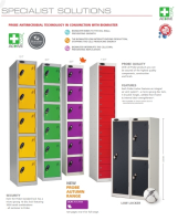 Secure Antimicrobial Locker Solutions