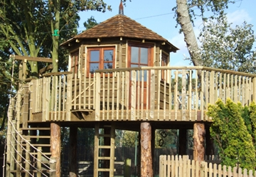 Bespoke High-Quality Wooden Playhouse Installers