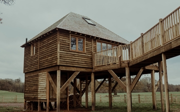 Solid Wood Children's Wooden TreeHouse Supplier