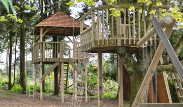 High-Quality Wooden Adventure Play Areas