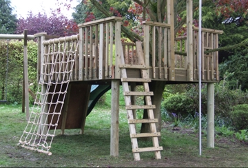 High-Quality Wooden Adventure Play Areas Installer