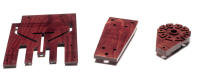 Densified Wood Laminate For Pipe Support Blocks