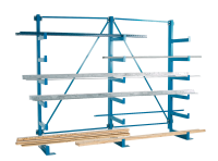 Cantilever Rack Parallel Sided - Double Sided