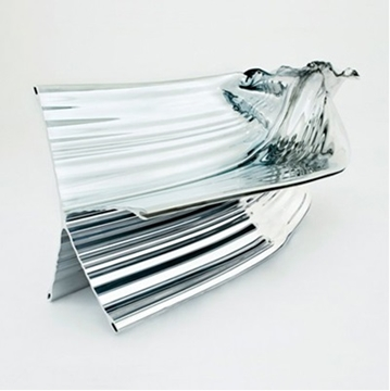 Restoration Of Stainless Steel Sculptural Pieces