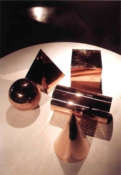 Polishing Of Copper Sculptural Pieces